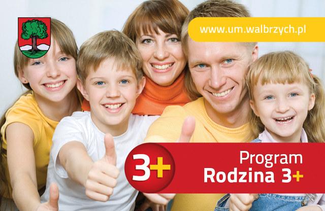 plakat program rodzina 3+