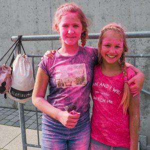 różowe dziewczynki
